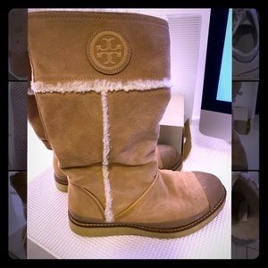 Tory Burch Winter Boots Size 7.5.